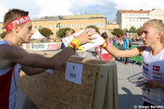 DEN change, WOC2016, sprint relay, 1st