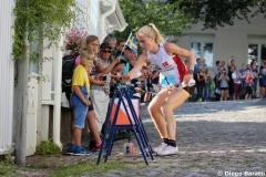 Maja Alm, DEN, WOC2016, sprint relay, 1st (2)