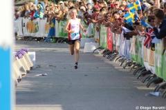 Maja Alm, DEN, WOC2016, sprint relay, 1st (4)