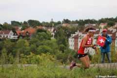 Elena Roos, WOC2016 sprint, 6th place