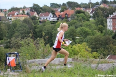 Maja Alm (DEN), WOC2016 sprint, 1st place