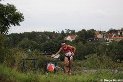 Martin Hubmann, WOC2016 sprint, 9th place