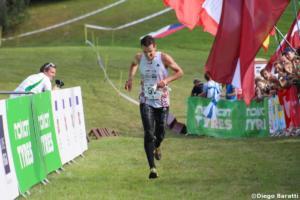 Andris Jubelis (LAT), WOC2018, relay, Diego Baratti