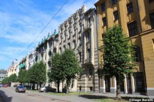 Buildings Art Nouveau,  8.08.18, Riga, Diego Baratt (7)