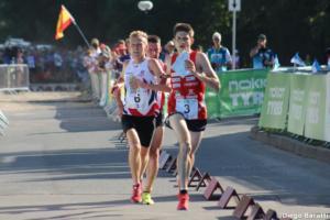 Change 3, WOC2018 sprint relay, Diego Baratti (2)
