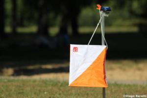 Control Flag, WOC2018 sprint relay, Diego Baratti