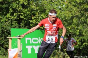 Daniel Hubmann(SUI), WOC 2018  relay, Diego Baratti