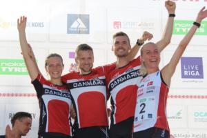 Denemark, WOC2018 sprint relay, Diego Baratti