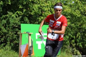 Elena Roos (SUI), WOC 2018  relay, Diego Baratti (3)