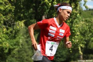 Elena Roos (SUI), WOC 2018  relay, Diego Baratti (4)