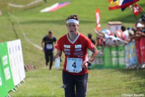 Elena Roos (SUI), WOC 2018  relay, Diego Baratti (7)