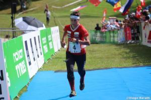 Elena Roos (SUI), WOC 2018  relay, Diego Baratti (8)