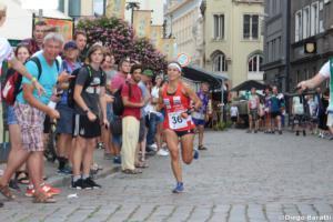 Elena Roos in gara a Riga (Diego Baratti)