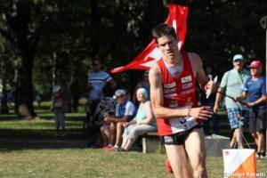 Fabien Hertner (SUI), WOC2018 sprint relay, Diego Baratti