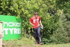 Florian Howald(SUI), WOC 2018  relay, Diego Baratti