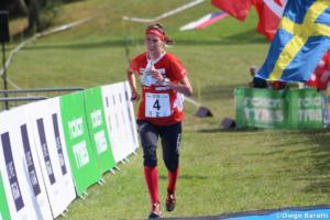 Julia Jakob (SUI), WOC 2018  relay, Diego Baratti  (5)
