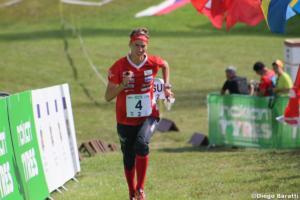 Julia Jakob (SUI), WOC 2018  relay, Diego Baratti  (7)