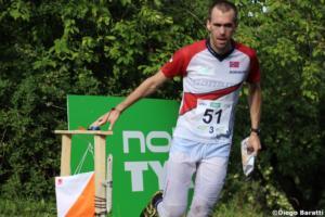 Magne Dahei (NOR), WOC2018, relay, Diego Baratti