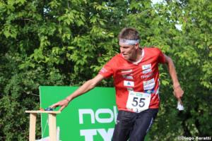 Matthias Kyburz(SUI), WOC 2018  relay, Diego Baratti