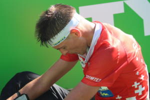 Matthias Kyburz (SUI), WOC2018, middle (2)