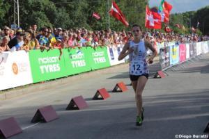 Sandra Grosberga (LAT), WOC2018 sprint relay, Diego Baratti (2)