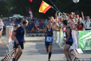 Sweden, WOC2018 sprint relay, Diego Baratti