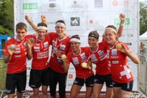Swiss medals WOC 2018  relay, Diego Baratti  (3)