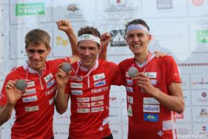 Swiss men, WOC2018, relay, Diego Baratti (1)