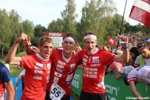 Swiss men team(SUI), WOC 2018  relay, Diego Baratti