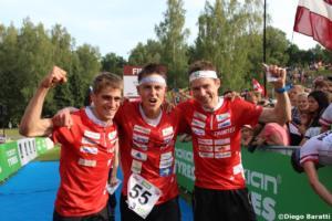 Swiss men team(SUI), WOC 2018  relay, Diego Baratti   (2)