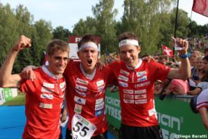 Swiss men team(SUI), WOC 2018  relay, Diego Baratti   (4)
