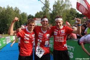 Swiss men team(SUI), WOC 2018  relay, Diego Baratti   (5)