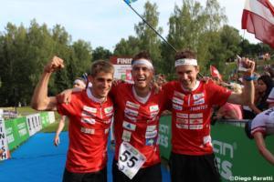 Swiss men team(SUI), WOC 2018  relay, Diego Baratti   (6)