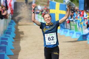 Tove Alexandersson (SWE), 1st, WOC2017 midde distance (1)