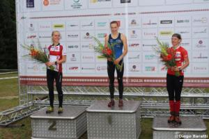Women podium Long ,WOC 2018